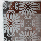 Edelstahl-Entwerfer und dekorative Platten