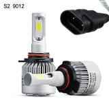 Linterna auto de la sola viga LED de la MAZORCA de la linterna S2 9012 del coche del LED