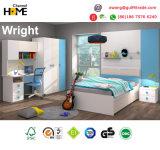 Мебель спальни популярной самомоднейшей мебели малышей цветастая деревянная (Wright)