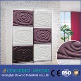 Painel de parede de madeira quente da venda 3D para o mercado de Ásia
