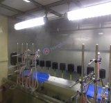 Chaîne de production automatique UV sans poussière de pistolage pour les pièces en plastique
