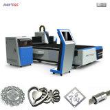 Comprare la tagliatrice del laser della fibra del metallo di CNC 500W da vendere