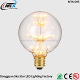 Fábrica 2700K 2W Deco Light LED Art Stained Bulb