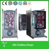 El secador de la caída del vapor, secador del lavadero, cae secadora, secadora del uso del hotel