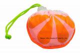 Bolso de compras plegable de las señoras para el estilo anaranjado de las frutas, reutilizable, ligero