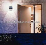 6LED太陽ライト、庭、壁、私道、ステップ、テラスのための無線防水屋外の動きセンサーの機密保護夜ライト(2詰めなさい)