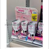 化粧品のための多彩なボール紙のカウンターの陳列台