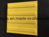 Рециркулированные безопасностью плитки пола слепого кирпича резиновый для дорожки