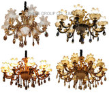 Indicatore luminoso Pendant del lampadario a bracci della lampada della lampada della decorazione di cristallo moderna di Swarovski delle braccia di Phine 10