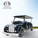 Das 6 Sitzcer genehmigt elektrisches Golf-Karren-Weinlese-Klassiker-Auto