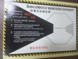 100g ярлыки перевозкы груза детекторов вибрации Shockwatch 1 утлые предупреждающий
