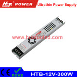 12V25A超薄いLEDの電源またはライトボックスまたは適用範囲が広いストリップ