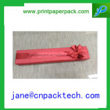 Boîte-cadeau de papier de cadre de bijou de cadre de collier de cadre de bracelet d'OEM