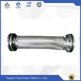 El acero inoxidable flexible 304 tejido el manguito acanalado del metal