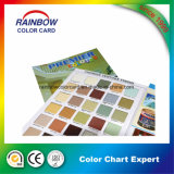 Hot Sale Texture Outdoor Paint Printing Color Card