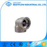 La autógena del socket del acero de carbón forjó las instalaciones de tuberías