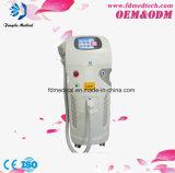 Dristributor quis a máquina Q-Switched da remoção do tatuagem do laser do diodo do ND YAG do uso vertical estético 1064nm 532nm da clínica da máquina
