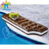 팽창식 수영 초콜렛 수영장 부유물 소파 로비 침대 부유물 장난감