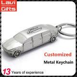 Veicolo per il trasporto del metallo su ordinazione poco costoso Keychain a forma di
