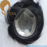 Toupee de cheveu de titan toutes sortes de Toupee de cheveux humains pour les hommes