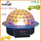 Luz mágica colorida única del LED Starball con el anillo azul para la etapa
