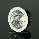 Qualität Druckguss-Aluminiumgehäuse PFEILER LED Downlight 18W