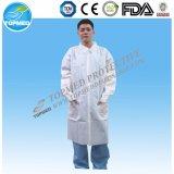 歯科ガウンまたは実験室のコートは病院のために卸し売りする