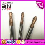 Hersteller von 2 Flöte-Karbid-Kugel-Wekzeugspritzen-Enden-Tausendsteln für Form-Stahl
