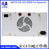 Full Spectrum 300W LED Grow Light avec contrôleur programmable Smart Fan