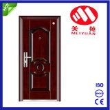 Роскошная входная дверь обеспеченностью в стальной внешней двери