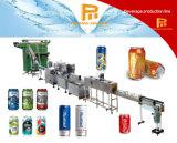 Linha de produção de enchimento de Aluminium&Pet e de selagem de lavagem de colocação em latas prática