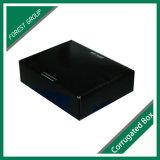 Caixa de armazenamento preta inteira do laço de curva da cor