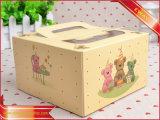 명확한 Windows를 가진 케이크 수송용 포장 상자 겹 종이상자