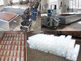 máquina de fatura de gelo do bloco do fabricante de gelo 5-Ton/24h com torre refrigerando