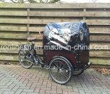 Педаль или 250With350With500W Elektrische Bakfiets/электрический груз Trike/Bike/семья груза e клобук и крышка Trike w велосипеда/перевозки груза колеса груза Tricycle/3