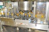 Línea de envasado de etiquetado de la máquina de rellenar del lacre automático de la botella