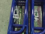 De Gang van de Steiger van het Type van klok door Frame met Blauw Met een laag bedekt Poeder