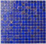 Mosaico de cristal azul claro