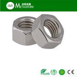 Hexágono del acero inoxidable de A2-70 A4-70 A4-80 Ss304 Ss316 316L/tuerca Hex DIN934