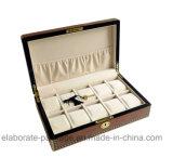 Personifizierter kundenspezifischer hölzerner Uhr-Verpackungs-Kasten-Luxuxgroßverkauf