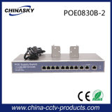 8 Port 10 / 100Mbps Poe Network Switch com 3ge Uplink (POE0830B-2)