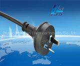 Australien-Typ Extensions-Netzkabel-Stecker für 10A 250V