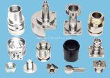 Componente de aluminio trabajado a máquina CNC