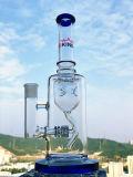 Tubos de agua del reciclador que fuman del tazón de fuente del vidrio de cristal al por mayor del arte