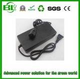 chargeur de la batterie 54.6V2a pour la batterie de 13s Li-Polymer/Li-ion/Lithium de l'adaptateur de pouvoir