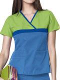 Uniforme à la mode fait sur commande de l'infirmière 2016 pour l'hôpital (A609)