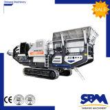 Fabrik-Förderung-mobile bewegliche Kiefer-Zerkleinerungsmaschine