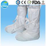 Compara tapa de la zapata antideslizante, anti tapa de la zapata de deslizamiento, Media Coated cubierta de zapatos PP no tejido