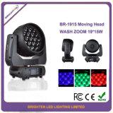 Stadiums-Wäsche-Lichter der Qualitäts-19*15W bewegliche des Kopf-LED