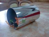Tubo-Espejo 800# del acero inoxidable 316l para el vidrio